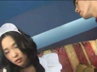 Japans meid met groot milky tieten