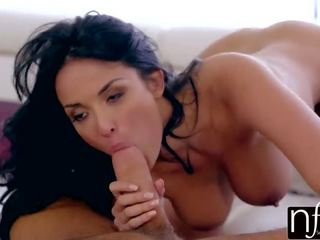 Nf Busty - Anissa Kate and Her Big Boobs Make Huge Cock Cum