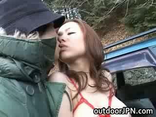 Aoi Mizumori Sweet Asian boobed