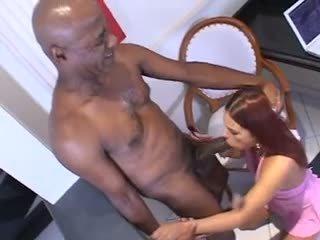 ruivo, anal, interracial