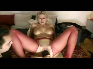 Blonde wife loves painful penetration Video