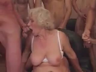 grannies, matures, oude + young