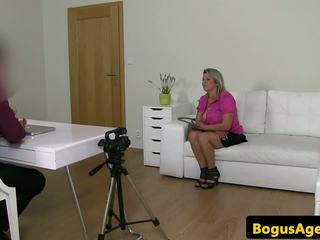 Bigtitted Auditioning Euro Titfucks Fakeagent: Free Porn 4e