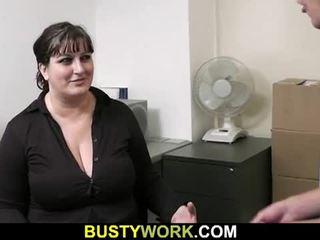 Haastattelu leads kohteeseen seksi varten tämä kimainen rasvainen