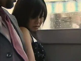 The Bus Was So Hot - Japanese Bus 11 - Lovers Go W