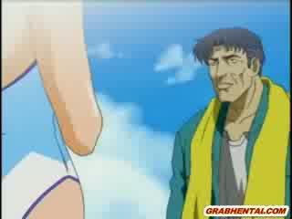 japānas, fucked, pludmale