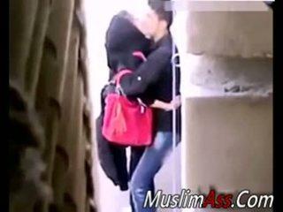 Hijab all'aperto sesso 2