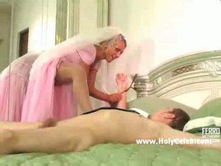 Bondage bij de huwelijk nacht