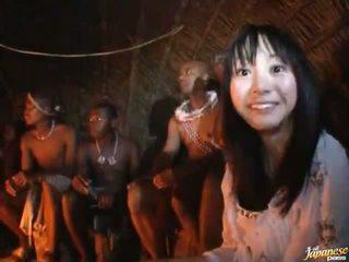 Horny And Shameless Hitomi Fujiwara Has Fat Core Smut Out Of Doors