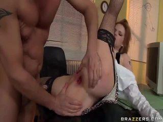 Gal anaal screwed door haar leraar