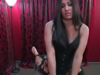 Mistress Uses Tied Slave
