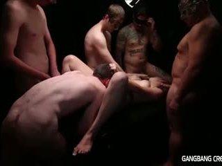 Gangbang creampie lesbo gets jotkut mulkku ja gets creamed