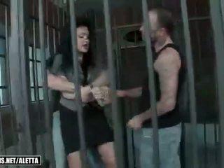 Aletta ocean getting double fucked uz the ieslodzītas