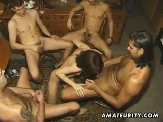 ओरल सेक्स, चूसना, समूह सेक्स