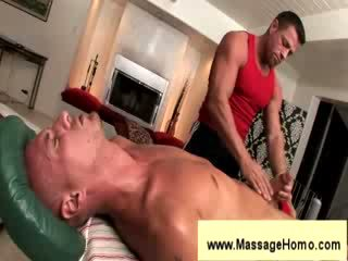 Troy michaels gives agzyňa almak to masseuse