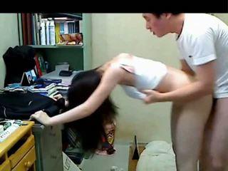 Korean Older Brother Fucking Her Younger Sister