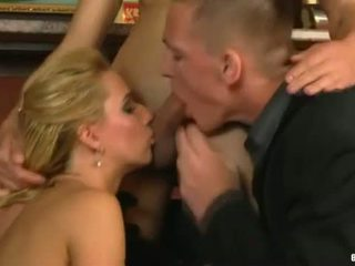 Pack Of Porn: MMF At The Bar