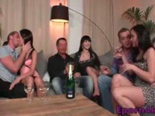 skupinový sex, swingers, európsky