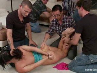 Antar ras seks dengan banyak pria seks mengikat tubuh pesta semua lebih ashli orion dan lily labeau
