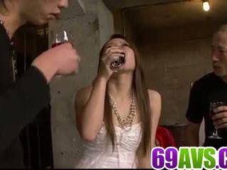 Kazumi nanase biztos loves dealing two cocks: ingyenes porn 49