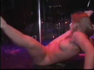 desnudo, danza, estriptista