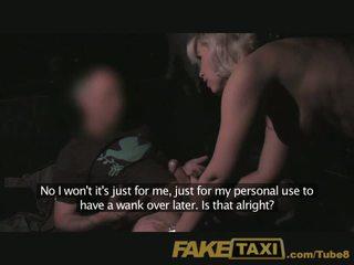 FakeTaxi Mature milf in backseat midht fun