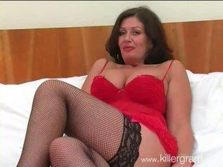 Groß breasted flittchen ehefrau fucks schwarz hunk im sexy unterwäsche