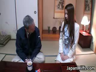 japonec, interracial, zralý