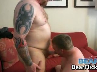 Gay bears drilling fat ass hardcore