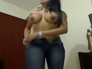 Sexy enorme boobed enorme cu gf teasing