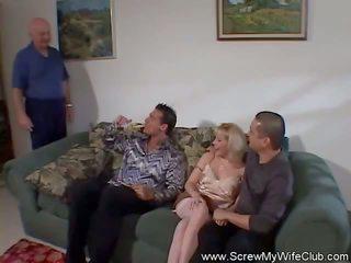 White MILF Enjoyed the Cock of a Stranger
