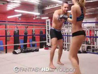 Hd fantasyhd - natalia starr wrestles suo modo in cazzo session