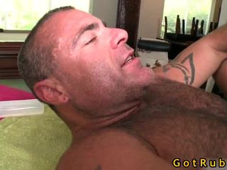 Lucky Boy Acquires His Chocolate Hole Licked