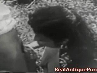 1915 hullu antiikki ulkona porno!