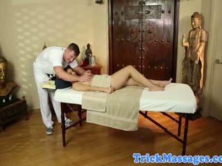 Cindy starfall nag pri ji masaža