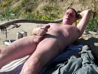 ديك كبيرة, مثلي الجنس, شاطئ