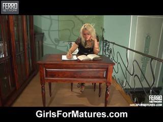 Cô gái vì matures biên soạn với juliet, alana, nora