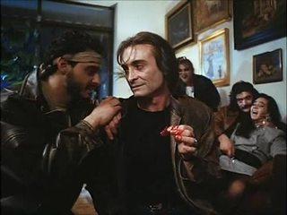 La noche del ejecutor (1992) spanyol birthday: feleség & lánya szar & spoiled