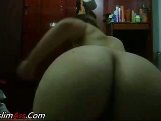 Sara tyłek masturbation