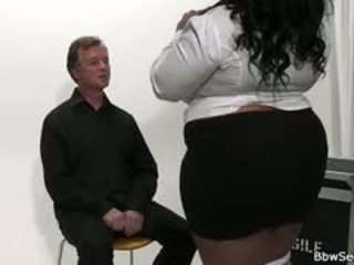 Mega-busty Ebony Bbw Cheating