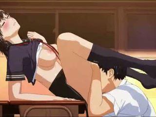 hentai, anime, schoolmeisje