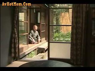 japanilainen, isä, tytär