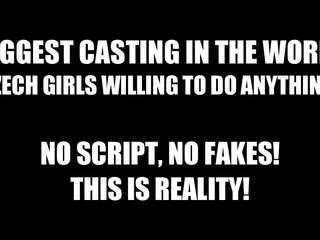 Super heet meisjes krijgen geneukt in casting kamer