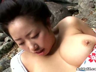 Seksualu geisha kotone yamashita pakliuvom sunkus
