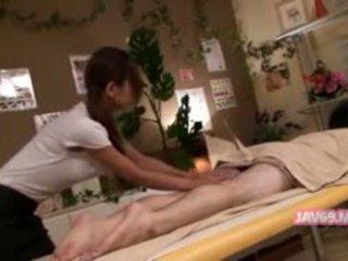 Schattig heet koreaans meisje neuken