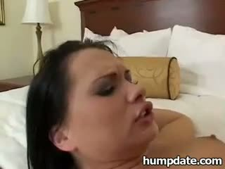 Katja Kassin taking thick cock in her tight ass