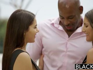 Blacked august ames en valentina nappi delen bbc