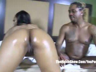 סקסי stripper thick שלל lusty אדום מזוין על ידי bbc מלך kreme וידאו