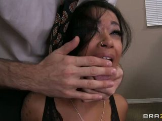 Sassy skin diamond ir piespiedu līdz zīst viņai bosses prick