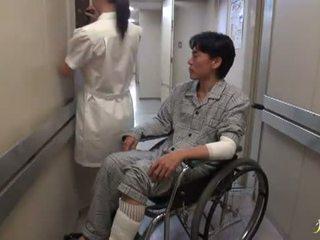 Hikaru ayami die rauchen genial chinesisch krankenschwester has gemacht liebe groß